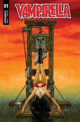 Vampirella #1, variant cover di Joe Jusko