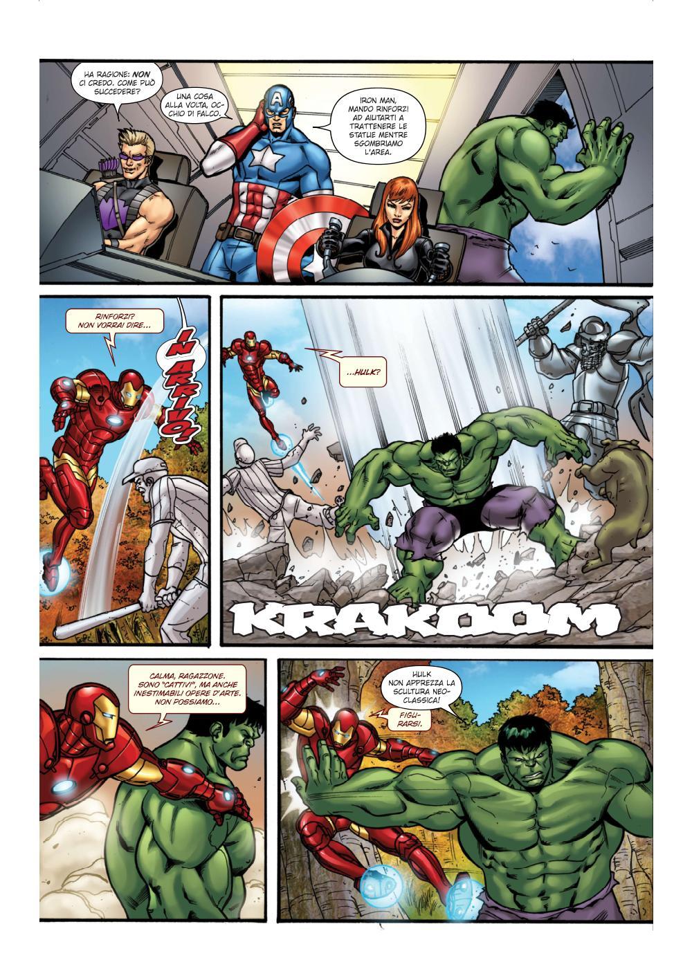 Gli Avengers contro il bullismo