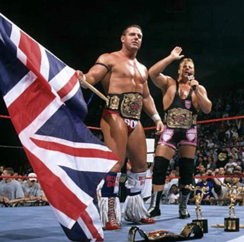 Owen Hart and British Bulldog