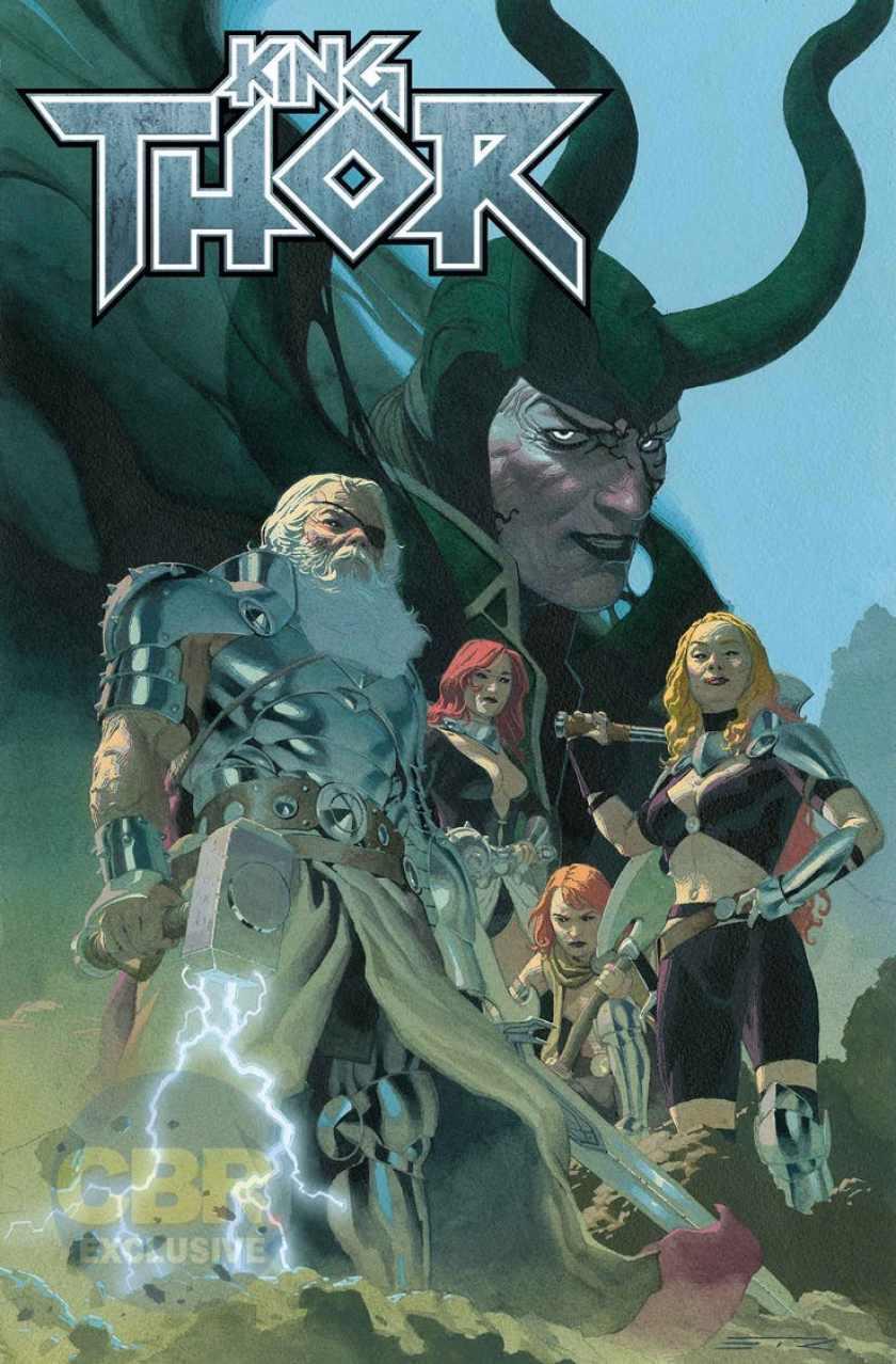 Arriva King Thor, la saga finale di Jason Aaron sul Dio del Tuono