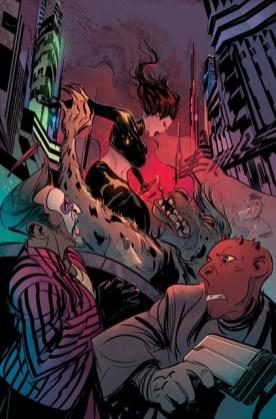 Batman Beyond, disegnato da Dustin Nguyen