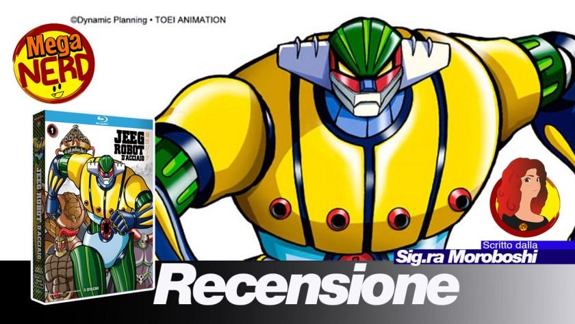 Jeeg robot dacciaio serie completa anime factory meganerd
