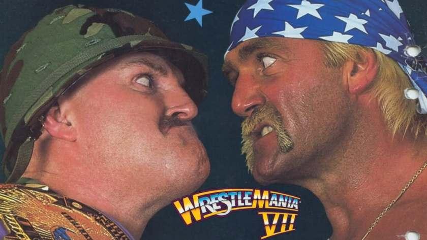 Sgt Slaughter vs Hulk Hogan a Wrestlemania VII