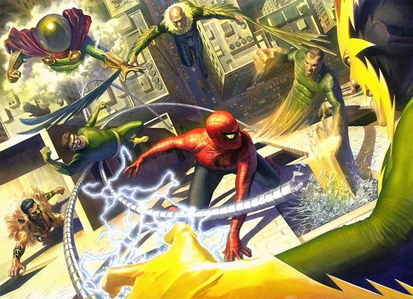 spiderman vs bosses