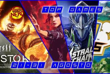 top videogames 21 ago