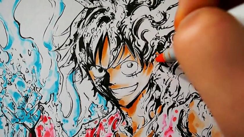 Rufy, il protagonista di One Piece, direttamente dalla penna di Oda