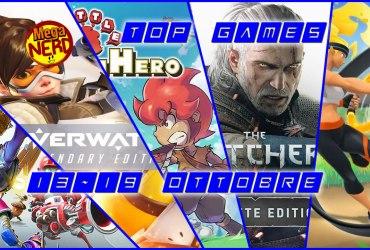 Top Games 13-19 Ottobre evidenza