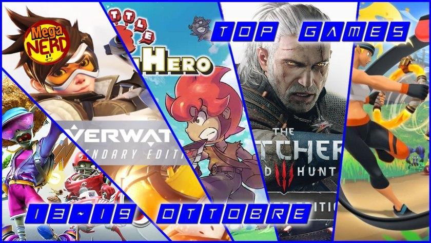 Top Games 13-19 Ottobre