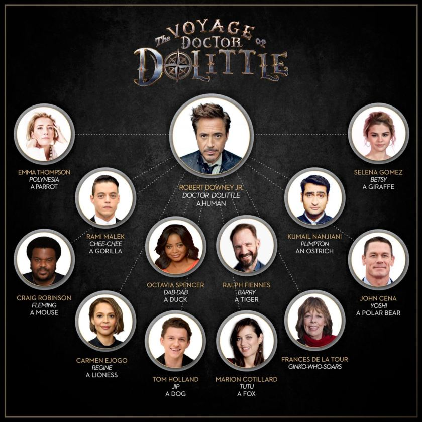 cast Dolittle