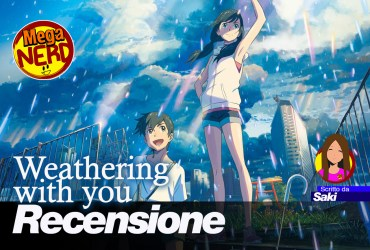 recensione weathering with you