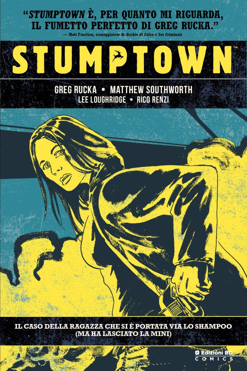 Stumptown copertina