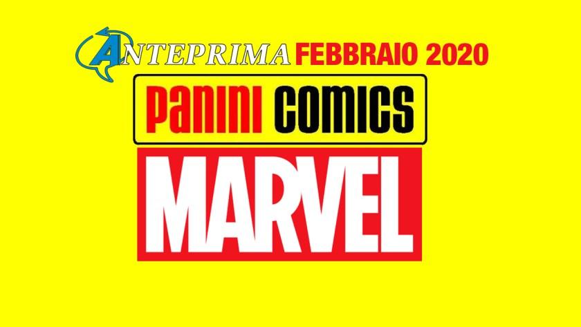 panini marvel italia FEBBRAIO 2020