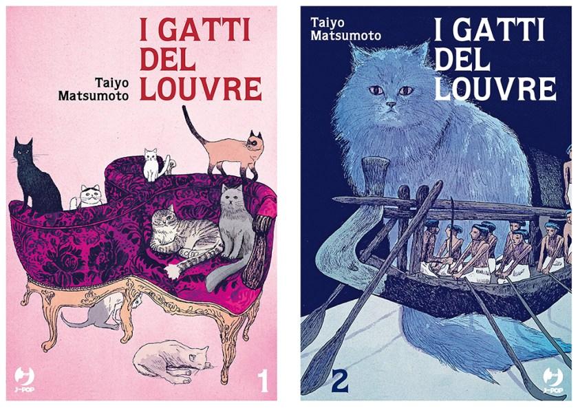 I Gatti del Louvre -  vol. 1 e 2