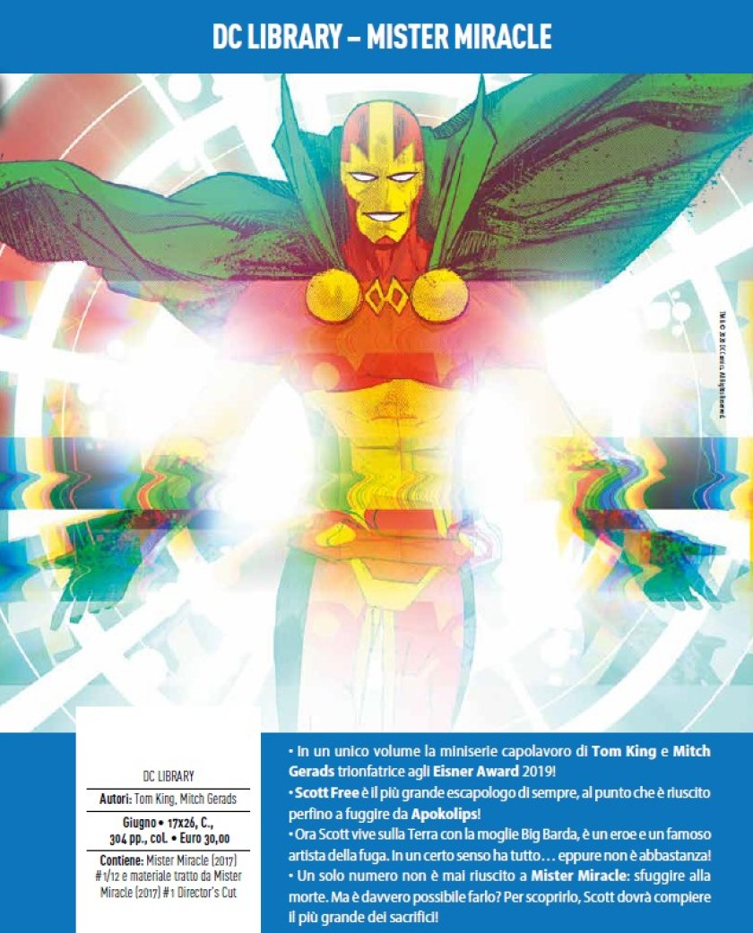 mister miracle panini
