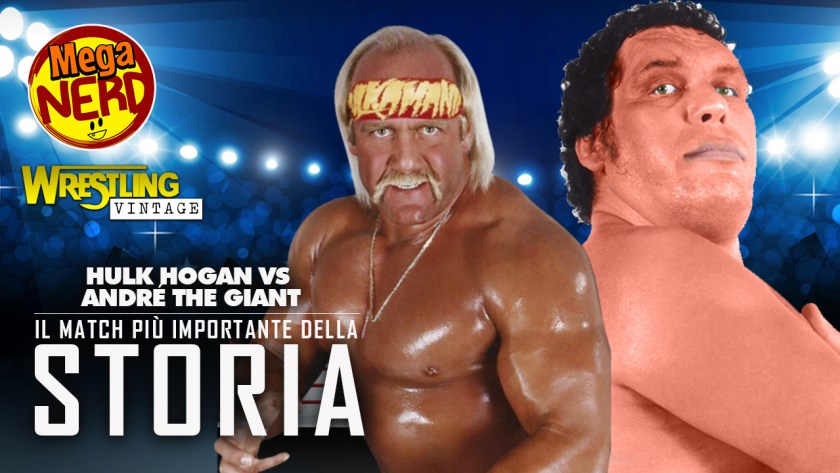 wrestling vintage hulk hogan vs andre the giant 2