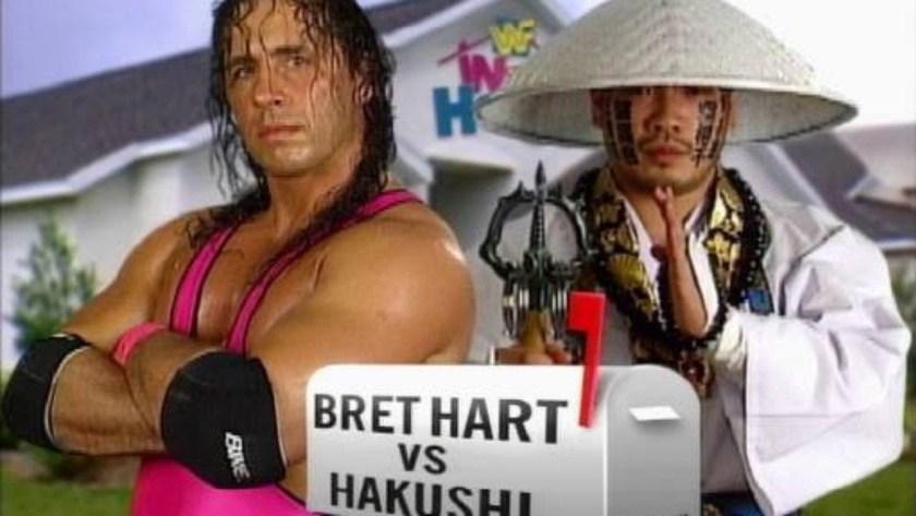 Bret Hart vs Hakushi