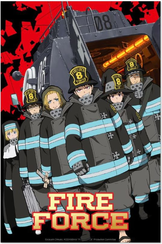 Fire Force - Stagione 1