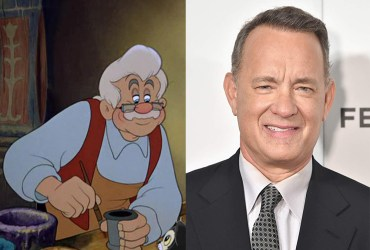 Tom Hanks Pinocchio