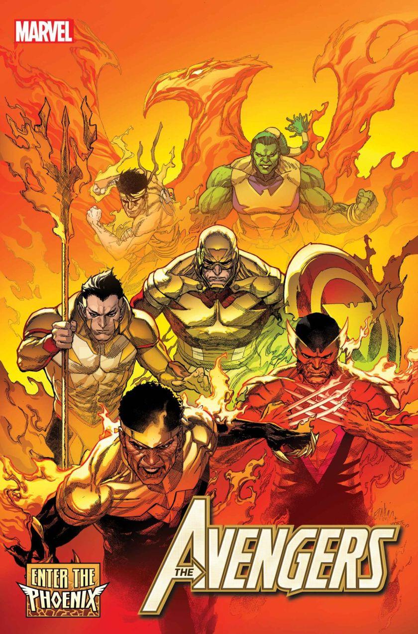 avengers enter the phoenix