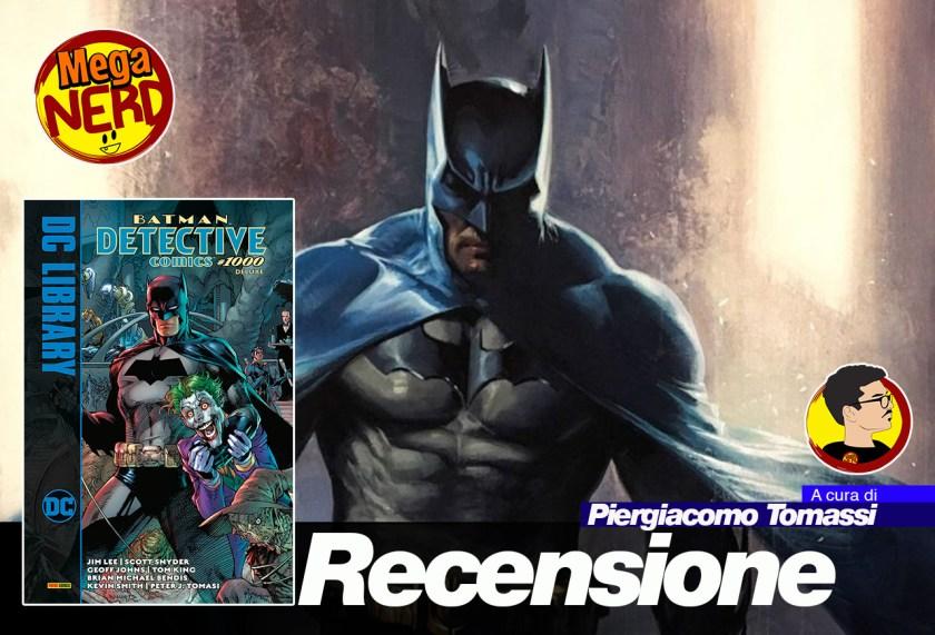 recensione detective comics 1000