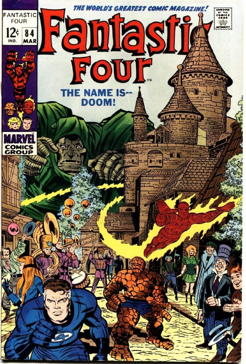 Fantastic Four the name is doom