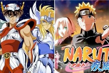 Mediaset - Naruto e Cavalieri dello Zodiaco