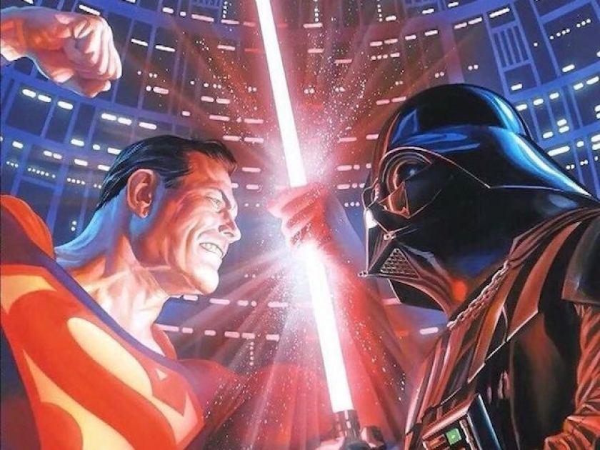 Superman Darth Vader