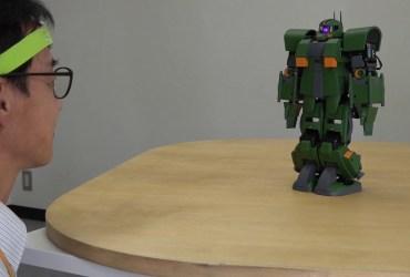 Gundam Gunpla muove pensiero