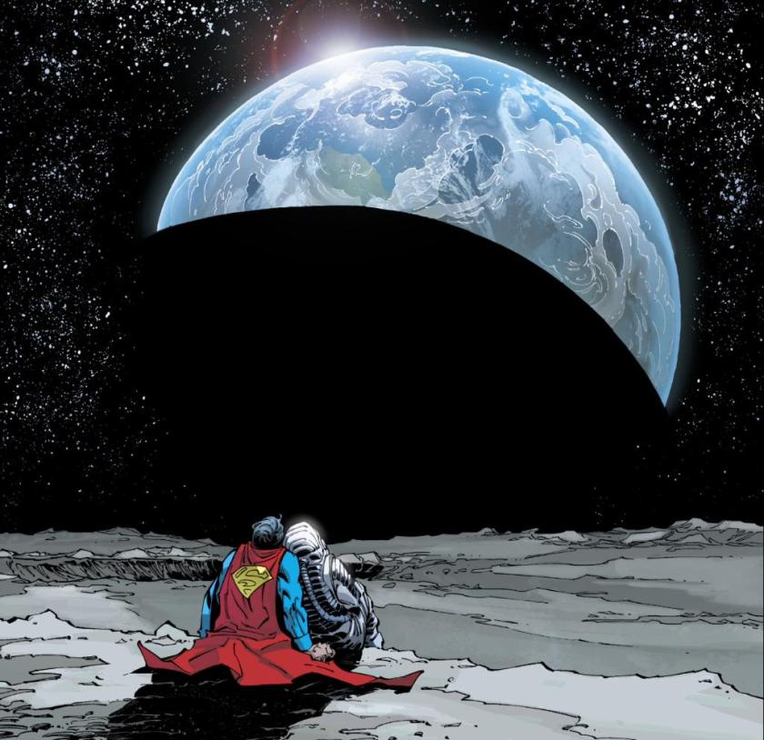 superman up in the sky recensione