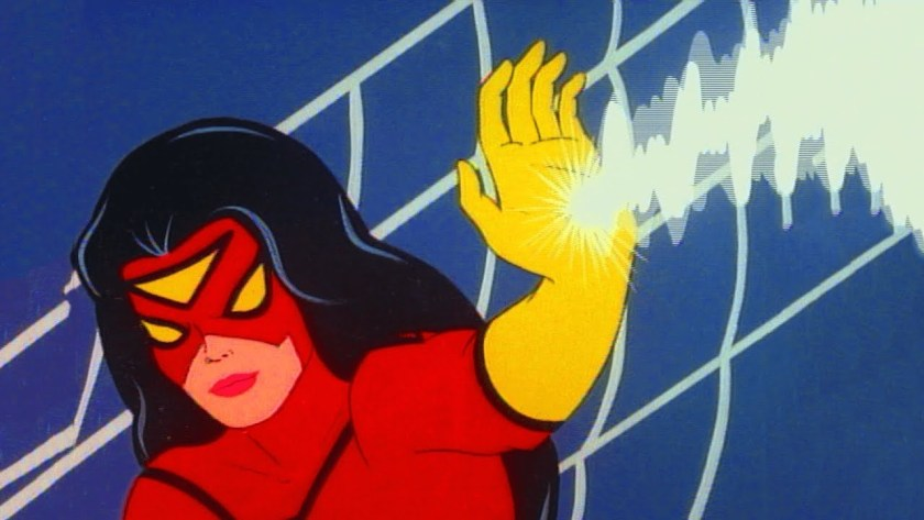 spider woman cartoon