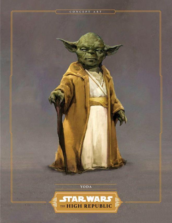 Yoda High Republic Concept Art