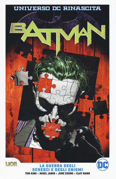 Batman. Vol. 4: La guerra degli scherzi e degli enigmi