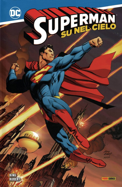 superman su nel cielo