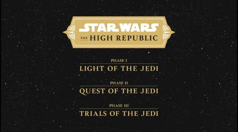 Star Wars The High Republic fasi editoriali