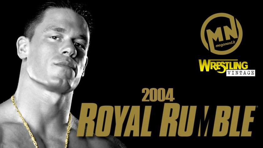 copertina wrestling vintage royal rumble 2004