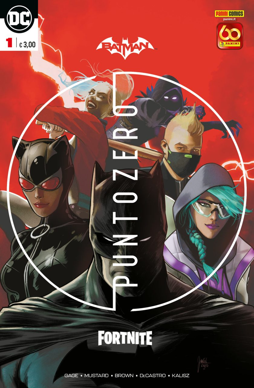 Batman/Fortnite: Punto Zero - Debutta la miniserie a fumetti
