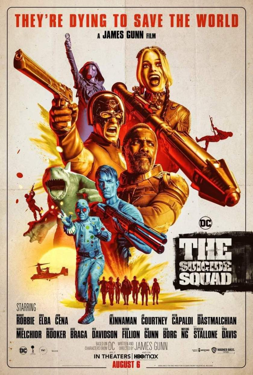 the suicide squad poster