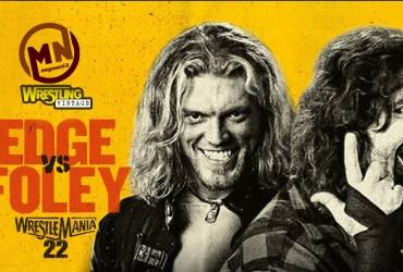copertina wrestling vintage edge vs foley
