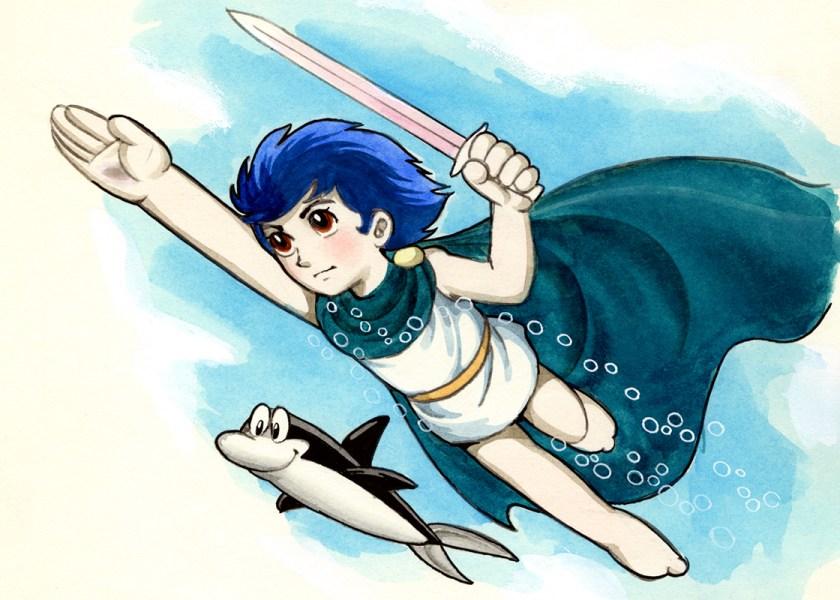 Triton - Anche le ciambelle di Tezuka non riescono tutte con il buco