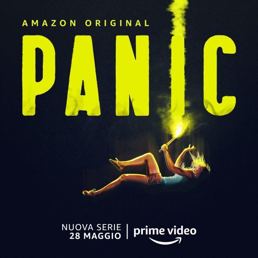panic poster amazon