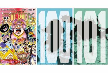 One Piece - Le cover dei numeri 99,100 e 101