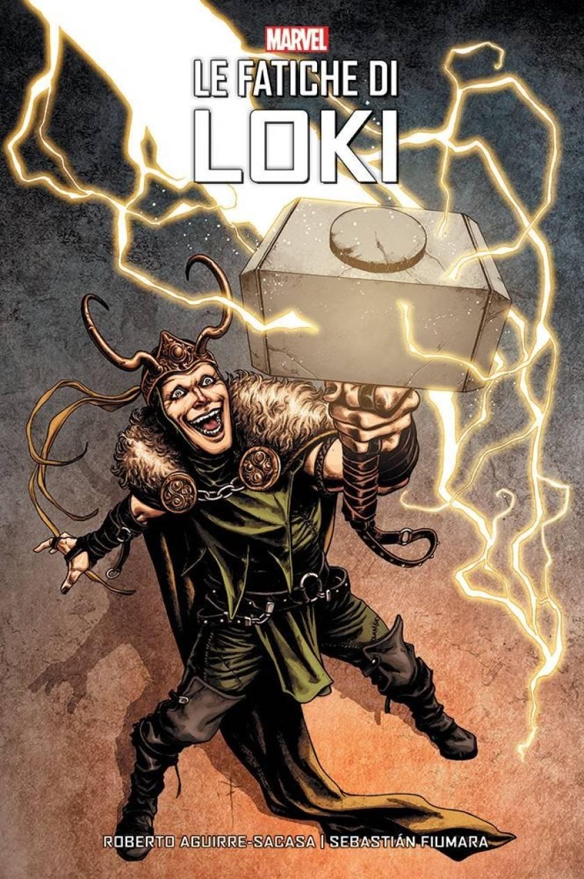 Le fatiche di Loki_cover