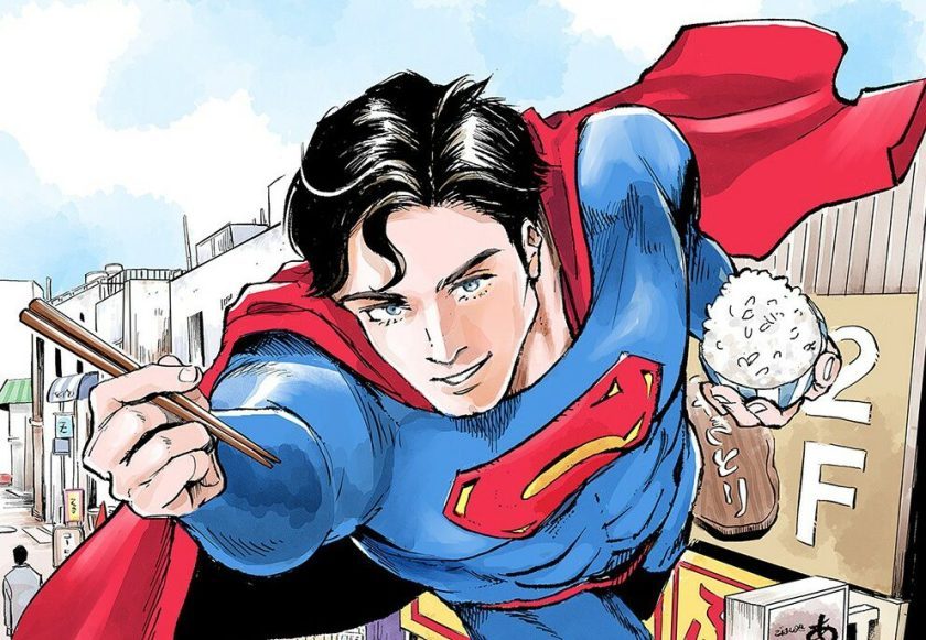 superman manga teaser