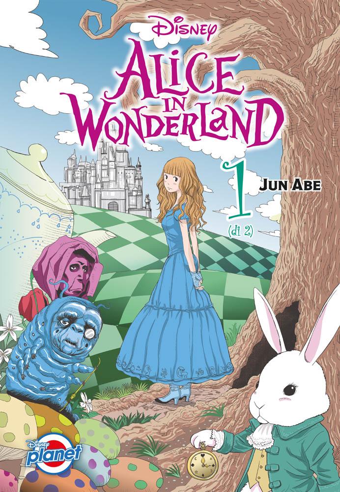 Alice in Wonderland - Disney Planet pubblica il manga di Jun Abe