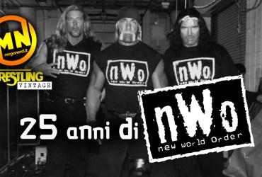 copertina wrestling vintage nwo 25