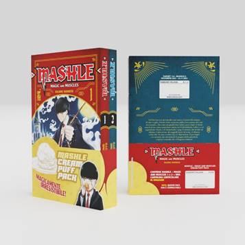 Mashle - In arrivo il box con i primi due volumi