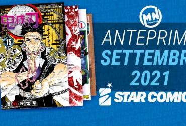 novità star comics settembre 21