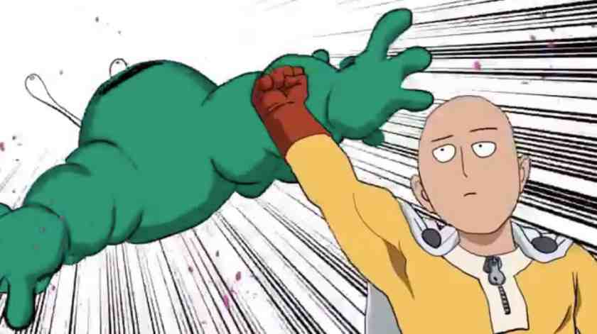 One-Punch Man - Il corto animato realizzato da Yusuke Murata