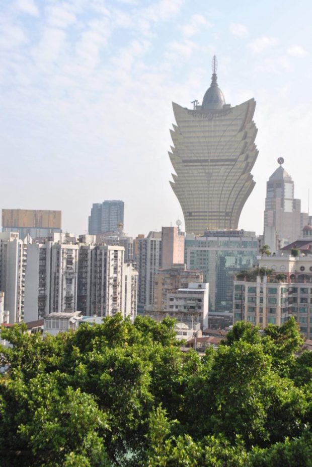 Big Mama Grand Lisboa, dominating the Macau skyline