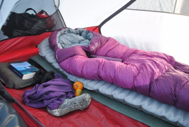 Luxury beyond luxury in my winter mobile home.